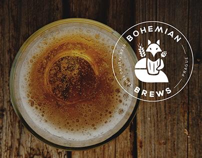 Bohemian Brews - branding & webdesign