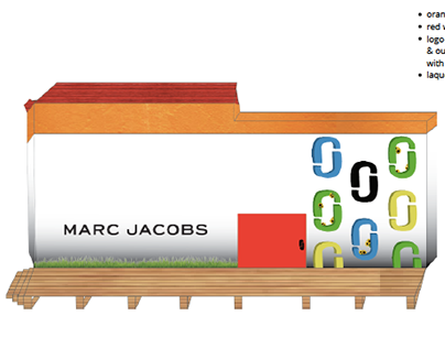 Visual Communications - 'Marc Jacobs Flagship Store'
