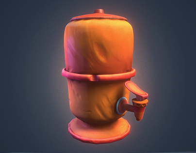 Stylized Water Filter