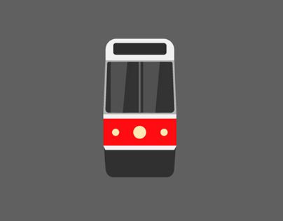 TTC Streetcar Emoji
