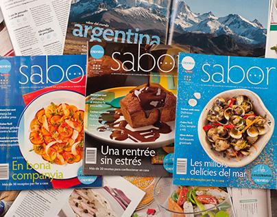 Revista Sabor (Caprabo)