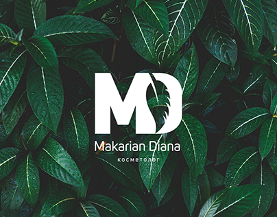 Logo Makarian Diana. Cosmetology