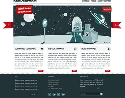 Renderfarm website
