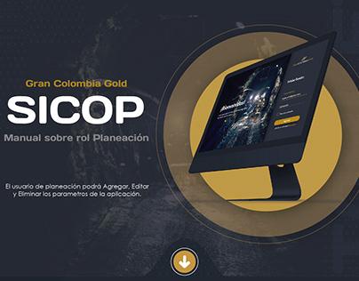 DESIGN APP / GRAN COLOMBIA GOLD