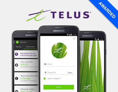 Telus My account - UX Direction