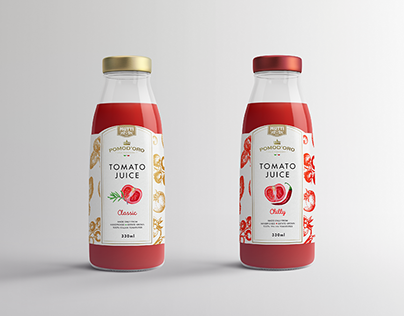 Packaging Design | Mutti Tomato Juice Concepts