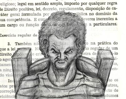 [Artist's book] Direito penal (ou O dolo e a culpa)