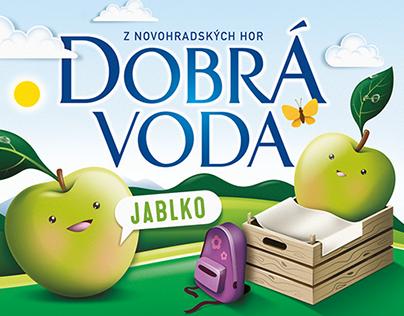 Fruit water for children, KVM, Czech republic