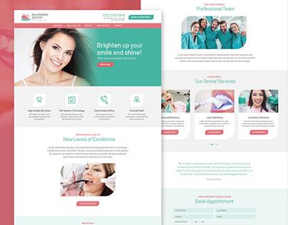 NH Website Redesign on Behance