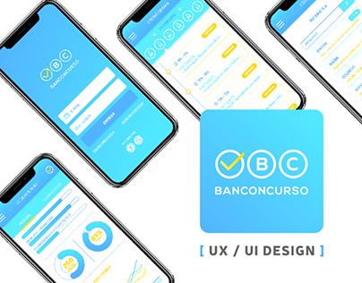 UX / UI Design - App Banconcurso