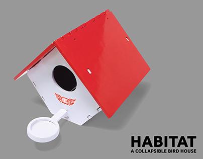 HABITAT: A Collapsible Bird House