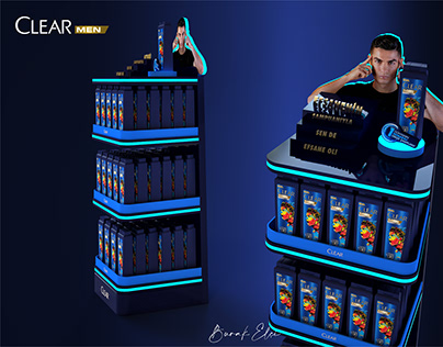 Clear - Ronaldo Display Set