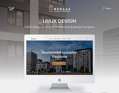 Meraas Professional Buildings Company UX/UI design