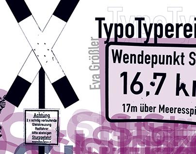 TypoCollage: Kalender TypoTypereien