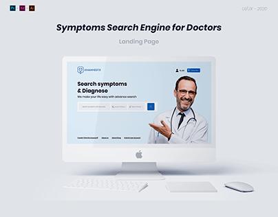 Symptoms Search Engine - UI/UX