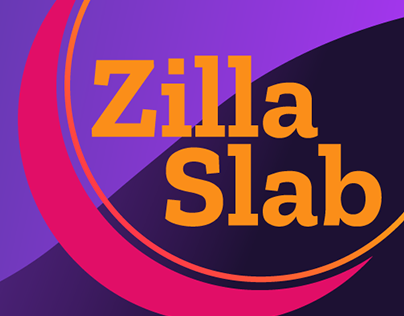 Resenha Tipográfica Zilla Slab