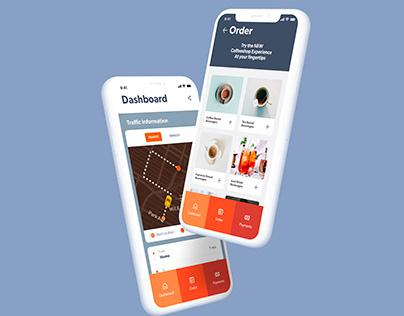 Vibe — Coffee App (UI design)
