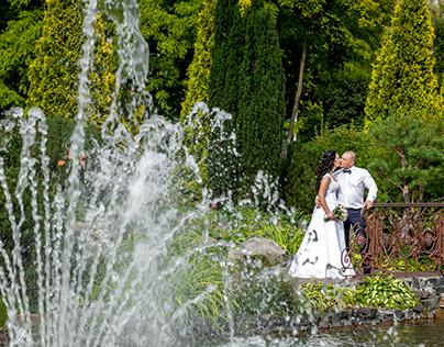 Свадьба в Межигорье Лили и Сергея