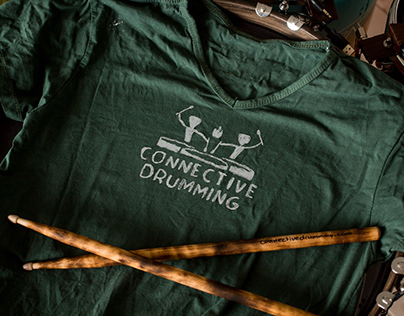 Brand identity: Connective Drumming