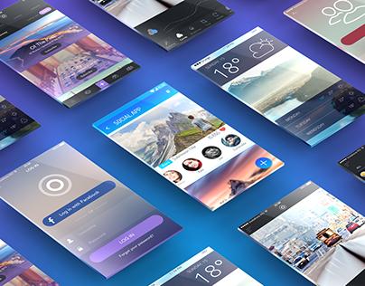 App Presentation Mockup PSD