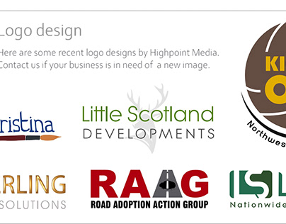 Latest logo designs from Highpoint Media
