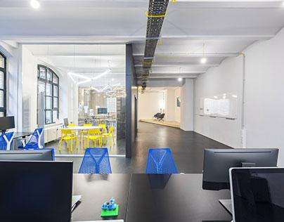UX-Design office: interior design