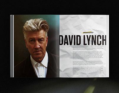 David Lynch film festival / Branding