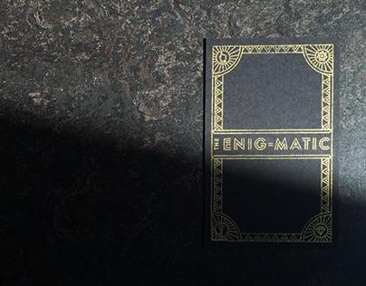 ENIG-MATIC Tarot Cards