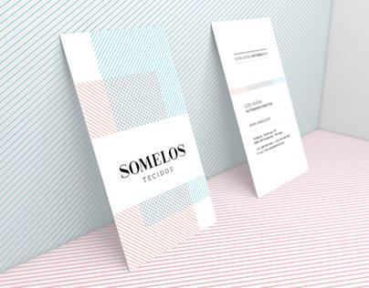 Somelos Tecidos - Rebranding
