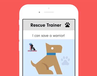 RescueTrainer, a rapid prototype