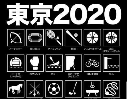 TOKYO 2020 / Sports.ru SMM identity