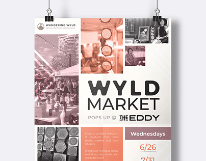 Wyld Market Poster Art + Social Media Images