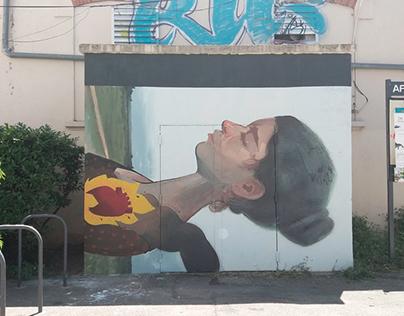 LA PASION Animated Mural