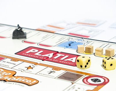 PLATIA - Board game