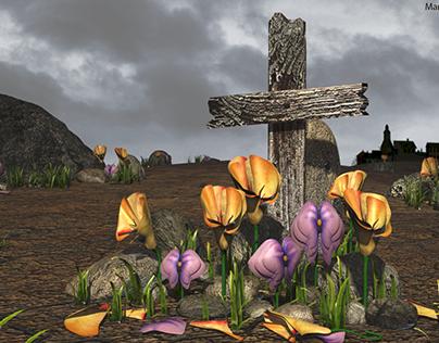 Makeshift Grave Still Life