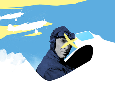 Editorial Illustrations — Airborne