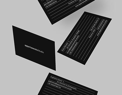 Appartamento Studio → Identity