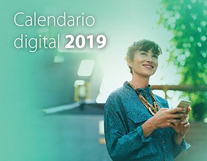 Calendario Digital 2019 -Venezolano de Crédito