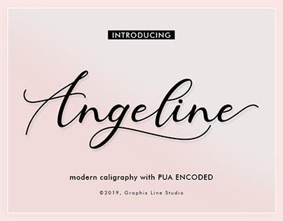 Angeline Modern Caligraphy Font