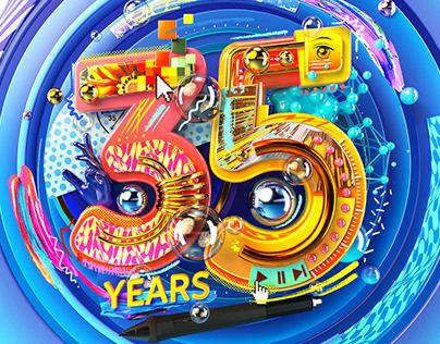 Wacom 35 years