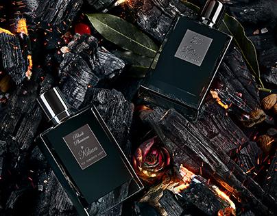 Perfume advertising photo