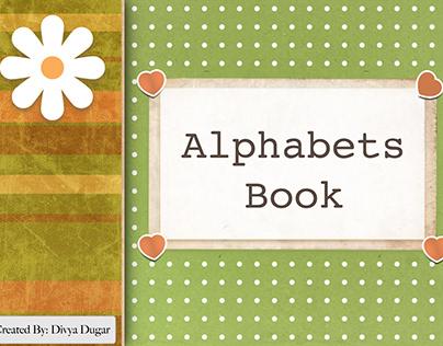 Alphabets Photo Book