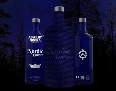 Absolut Vodka Bottle Bag