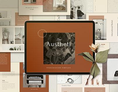 The Austheti Powerpoint Template