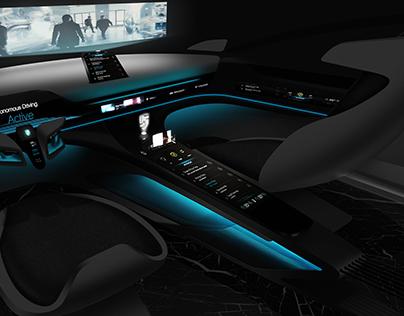 Porsche Memoria Autonom Interior Design Full Project