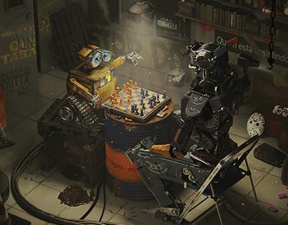 Wall-e VS Chappie