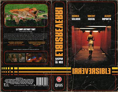 VHS Cover: Irreversible, Gaspar Noe
