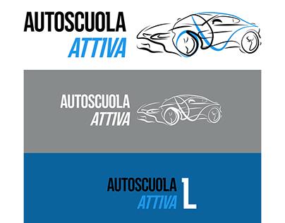 Driving school - logo design