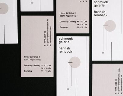 Schmuckgalerie Hannah Rembeck //