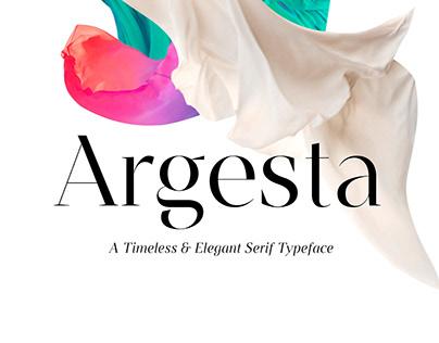 Argesta Font
